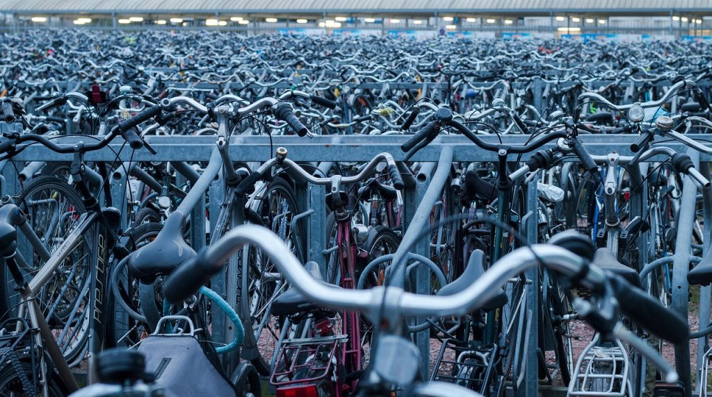 do práce na bicykli?