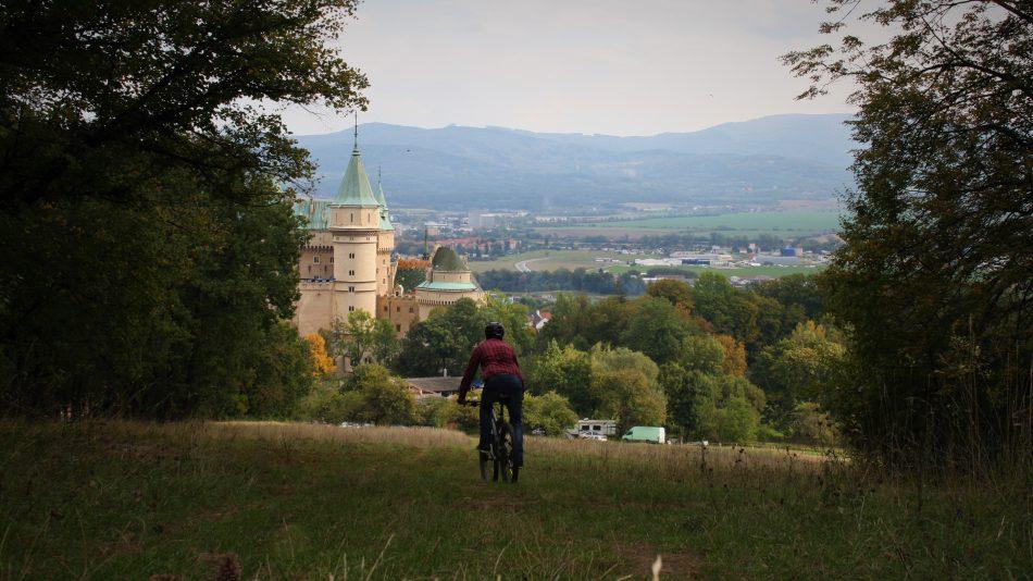 Koniec Pálfytrailu ústi pri najväčšom lákadle okolia - Bojnickom zámku