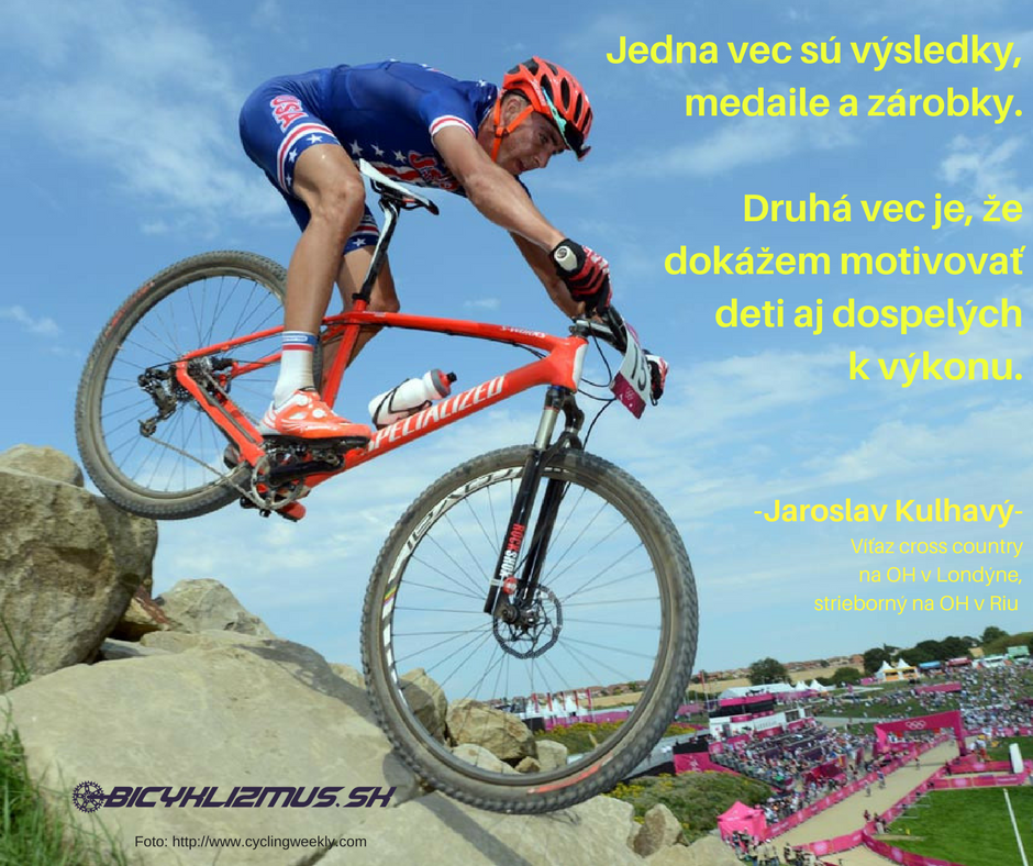 Jaroslav Kulhavy - citát na bicyklizmus.sk