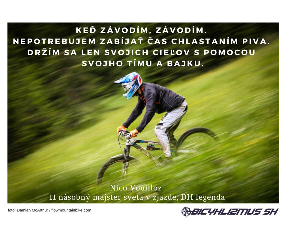 Nico citát na www.bicyklizmus.sk