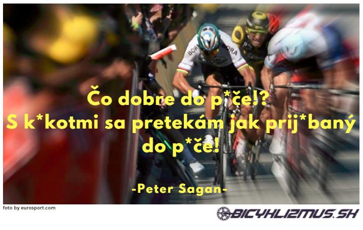 citát Peter Sagan - www.bicyklizmus.sk