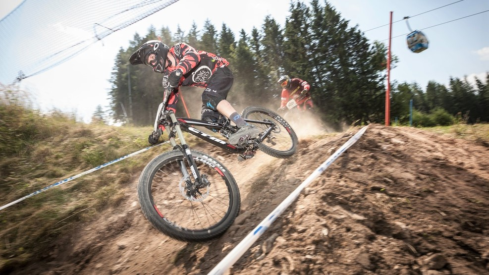 Bikepark Semmering – zo Slovenska čo by šniclom dohodil